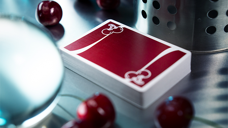 CHERRY CASINO PLAYING CARDS - BLACK, RENO RED, TAHOE BLUE ODER SAHARA GREEN EDITION