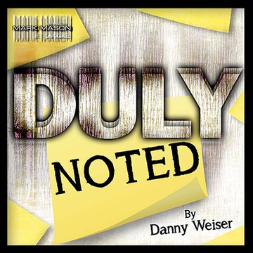 DULY NOTED - DANNY WEISER - ROT ODER BLAU
