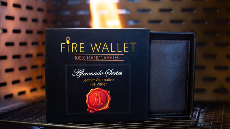 The Aficionado Fire Wallet (Gimmick und Online Instructions) von Murphy's Magic Supplies Is