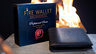 The Professional's Fire Wallet (Gimmick und Online Instructions) von Murphy's Magic - JCM STORE