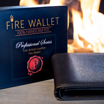 The Professional's Fire Wallet (Gimmick und Online Instructions) von Murphy's Magic