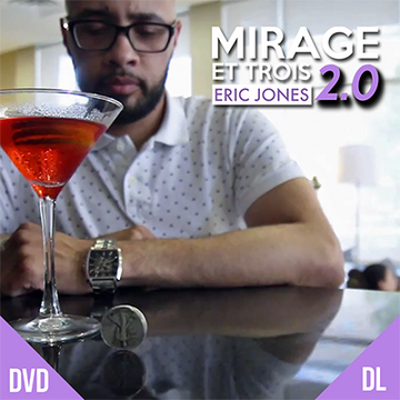 MIRAGE ET TROIS 2.0 - ERIC JONES + LOST ART MAGIC - JCM STORE