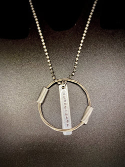 TIM BARBOUR OF BLAMESHIFT | STUDIO GUITAR STRING NECKLACE (6 AVAIL)