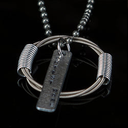 DAVID ELLEFSON OF MEGADETH BASS GUITAR NECKLACE