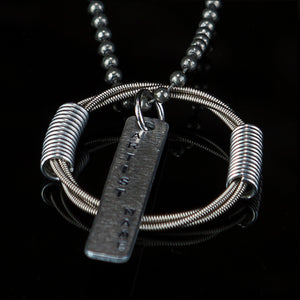 Dave Ellefson Bass Guitar Necklace