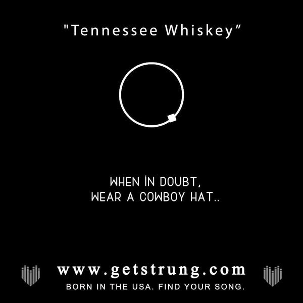 "COWBOY HAT - ""TENNESSEE WHISKEY"""