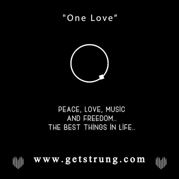 "PEACE SIGN HAND – ""ONE LOVE"""