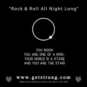 "Rock Hand – ""Rock & Roll All Night Long"""