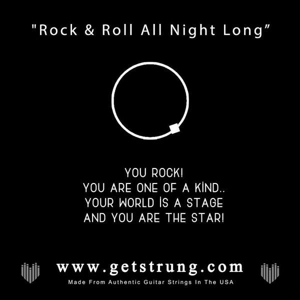 "ROCK HAND – ""ROCK & ROLL ALL NITE"""