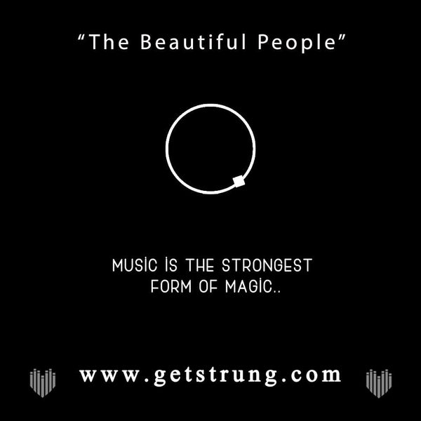 "SUGAR SKULL - ""THE BEAUTIFUL PEOPLE"""