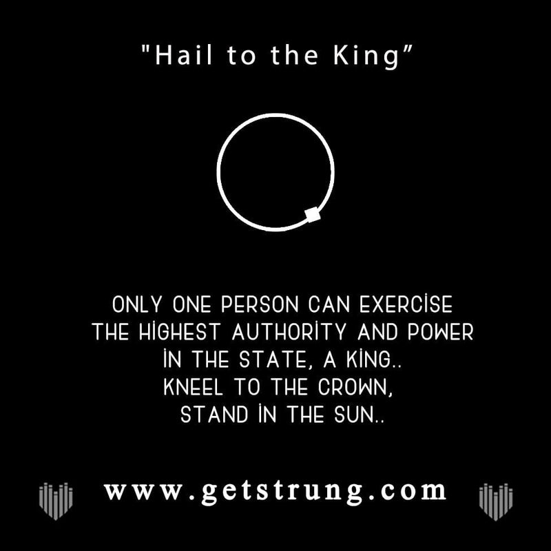 "THE KING – ""HAIL TO THE KING"""
