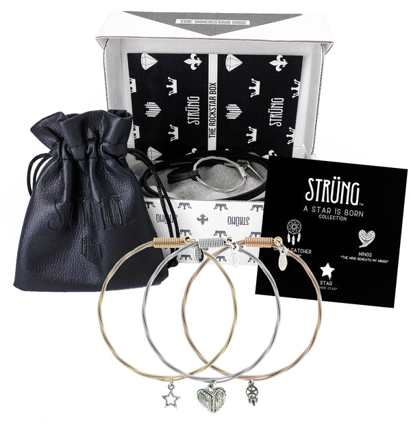 WOMEN'S ROCKSTAR BUNDLE A STAR IS BORN COLLECTION & NECKLACE