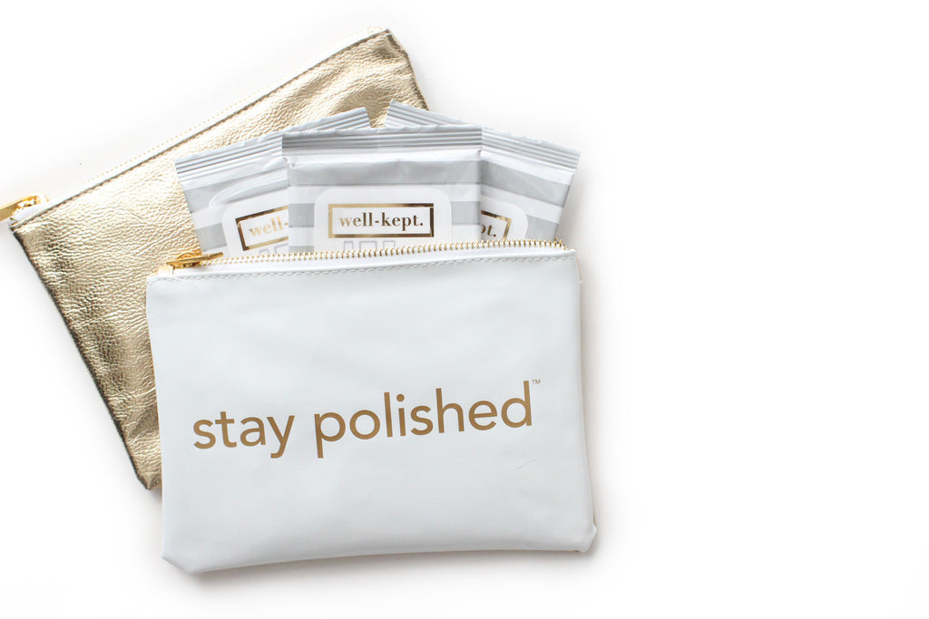 the stay polished pouch