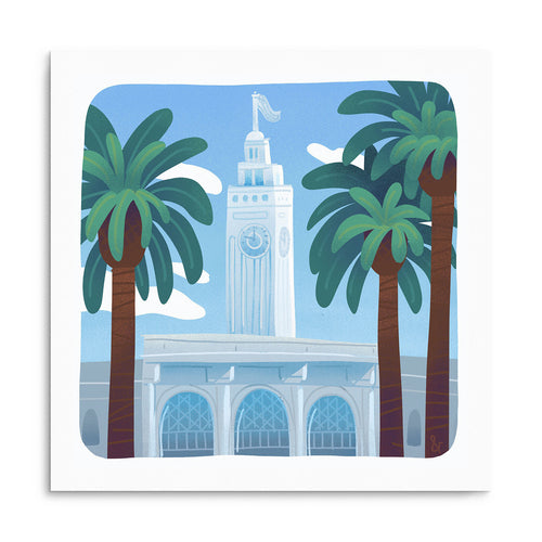 Ferry Building Print