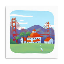 Load image into Gallery viewer, Golden Gate Print