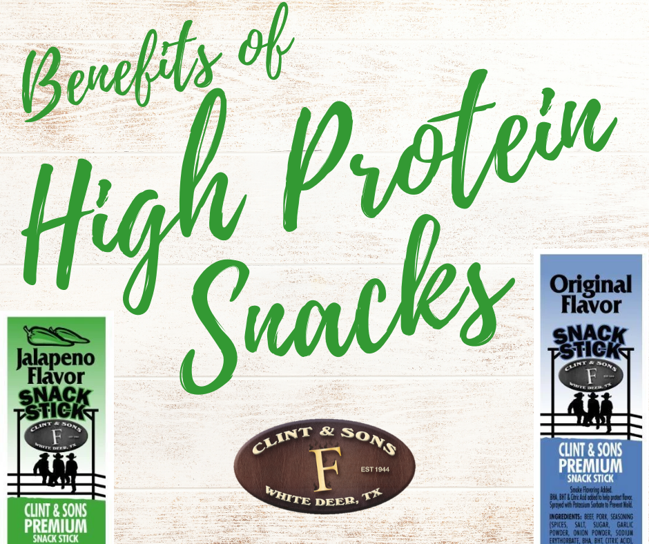 Benefits of High Protein Snacks