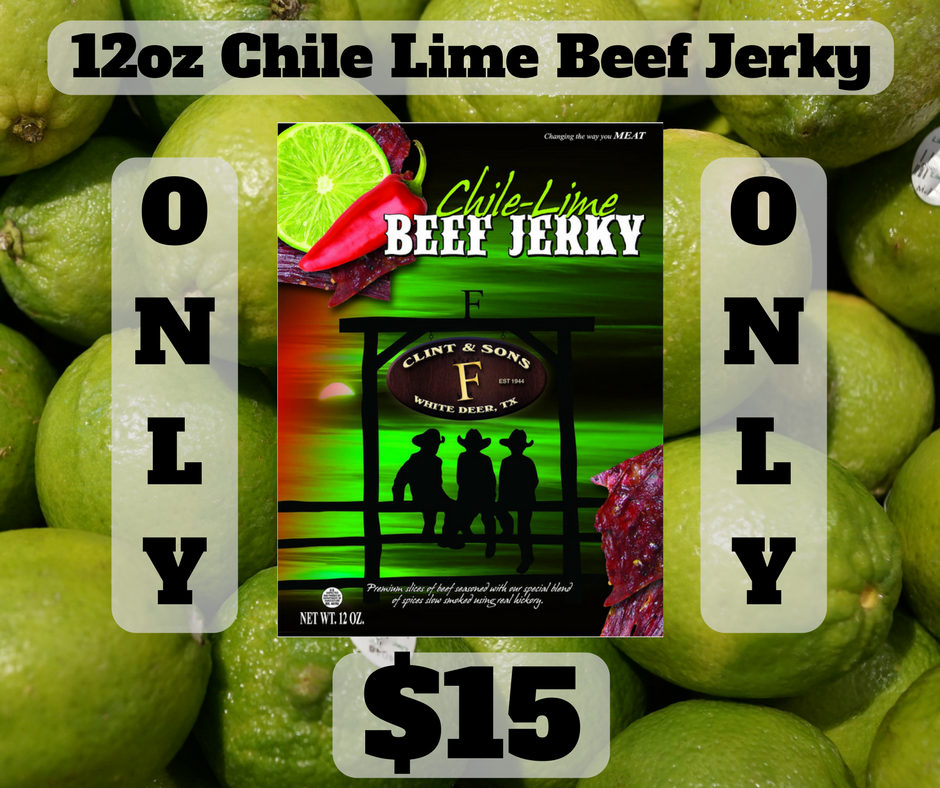 Chile Lime Jerky Sale