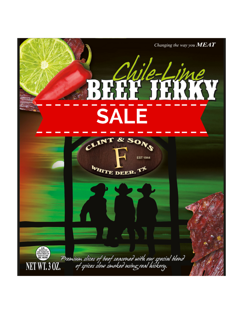 🌶️Sale Chile-Lime Beef Jerky🌶️