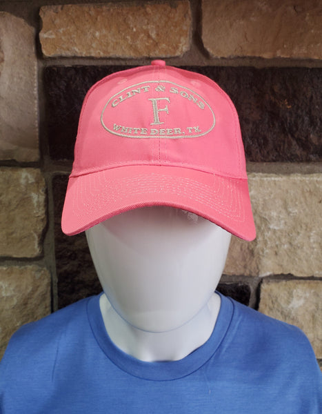 Polo Style Unstructured Hat