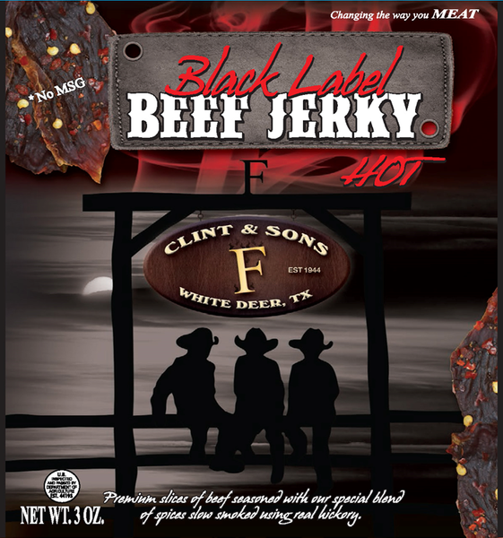 Black Label Hot Beef Jerky
