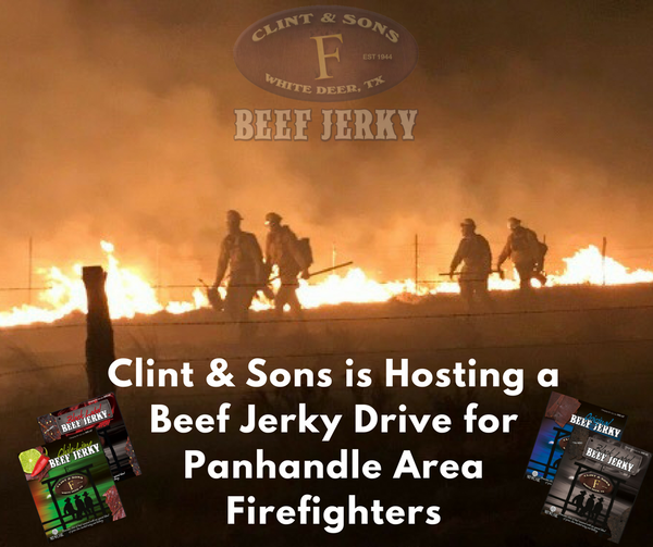 Firefighter Jerky Donation