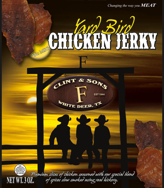 Yard Bird Chicken Jerky