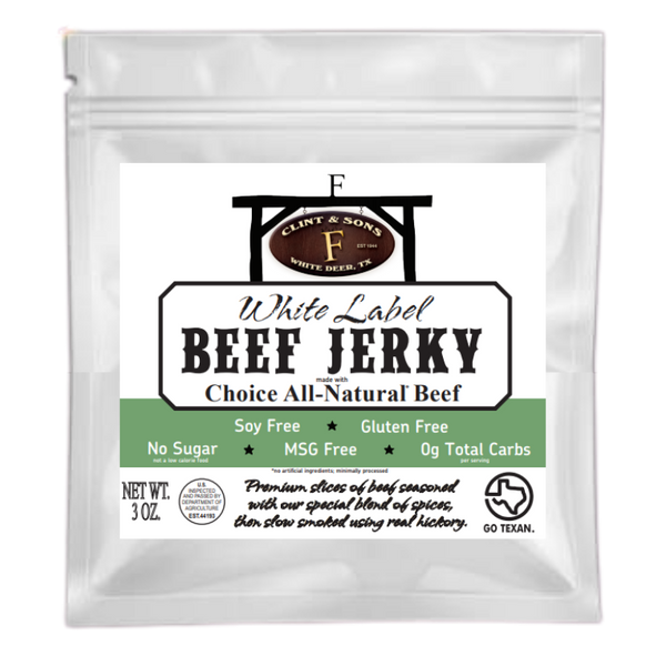 White Label Beef Jerky