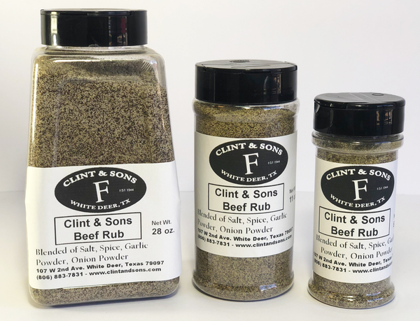 Clint & Sons Beef Rub