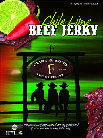 1- 12oz Chile Lime Beef Jerky