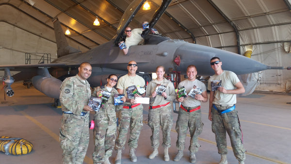 Beef Jerky Donation for the Troops