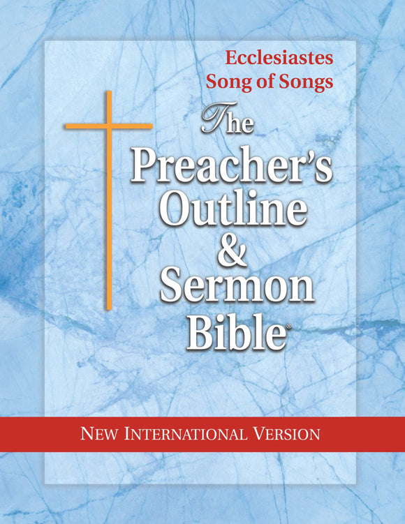 Ecclesiastes & Song of Songs (NIV Softcover) Vol. 19 - Leadership Ministries Worldwide