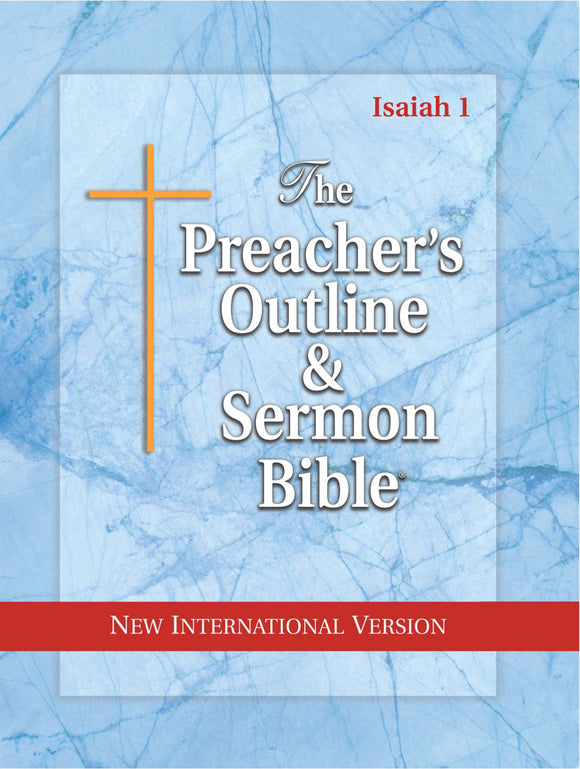 Isaiah (Ch. 1-35) (NIV Softcover) Vol. 20 - Leadership Ministries Worldwide