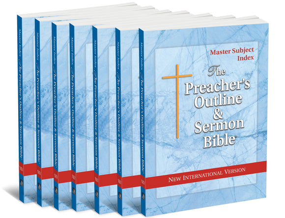 7-Volume Pentateuch Set (NIV Softcover) - Leadership Ministries Worldwide