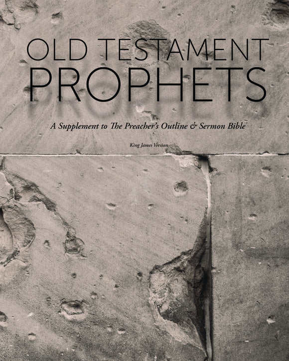 The Old Testament Prophets Supplement (KJV) - 2017 - Leadership Ministries Worldwide