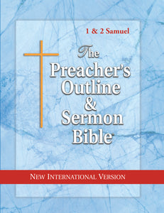 1 & 2 Samuel (NIV Softcover) Vol. 10