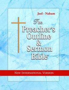 Joel, Amos, Obadiah, Jonah, Micah, Nahum (NIV Softcover) Vol. 25 - Leadership Ministries Worldwide