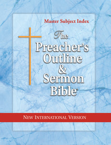 Master Subject Index (NIV Softcover) Vol. 40 - Leadership Ministries Worldwide