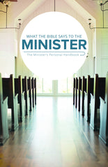 What the Bible Says to the Minister (Paperback) Bulk 10+