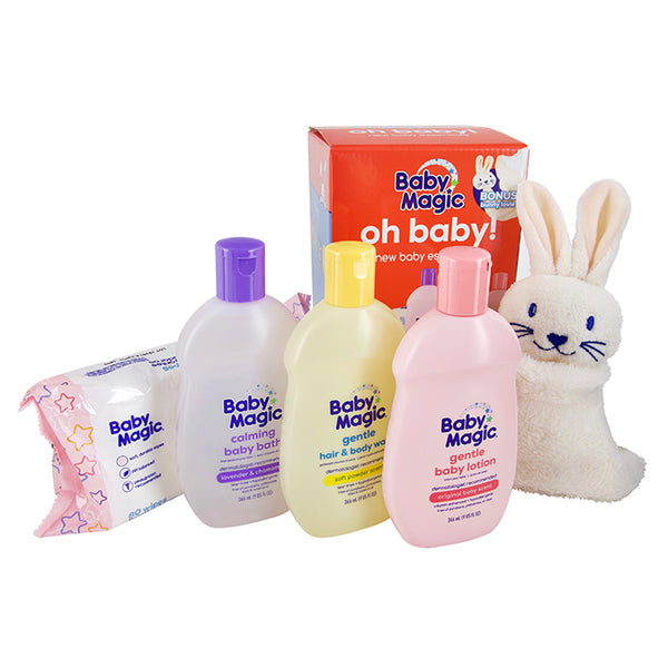 Oh Baby! Baby Essentials Gift Set