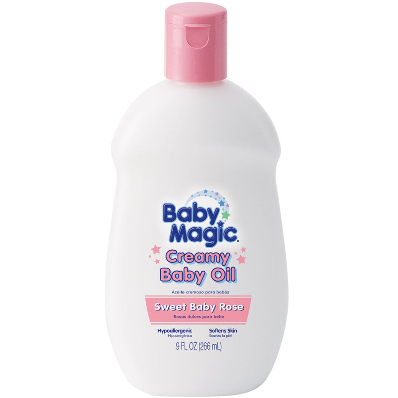 CREAMY BABY OIL SWEET BABY ROSE SCENT