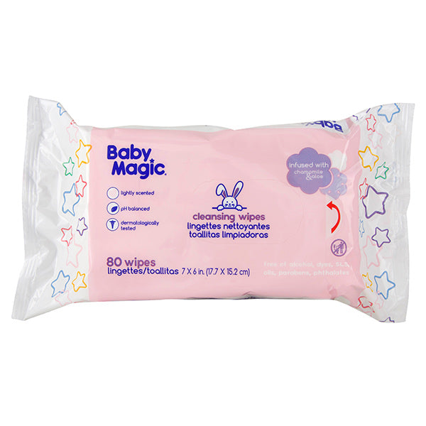 Cleansing Wipes, Lightly Scented