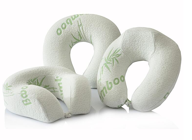 Bamboo Travel Neck Pillow