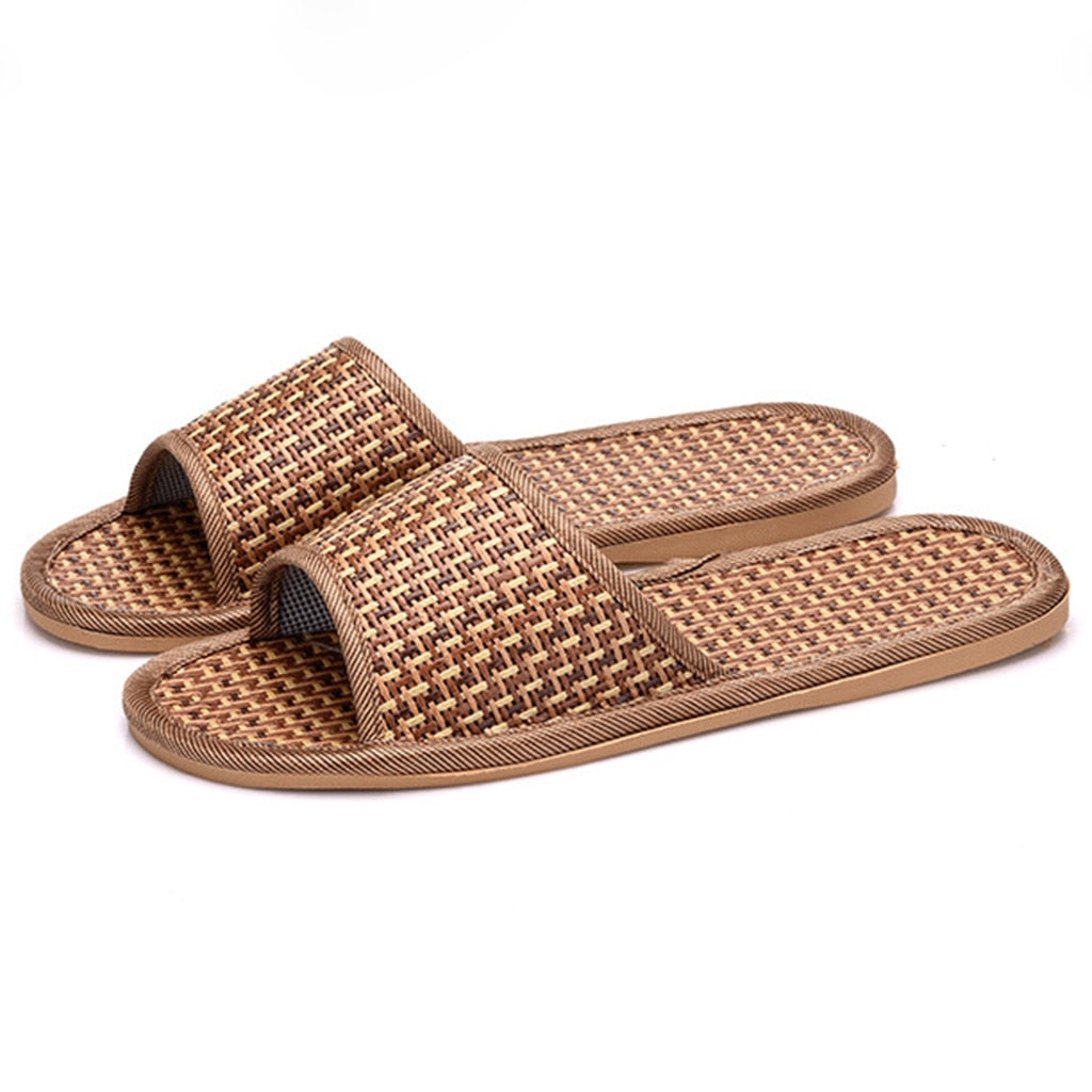 Eco-Friendly bamboo unisex slippers