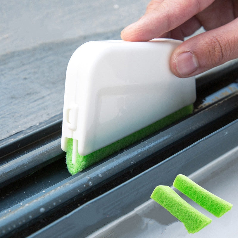 Multifunctional Window Groove Cleaning Brush