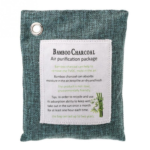 Bamboo Charcoal Air Purifying Bag (5pcs)