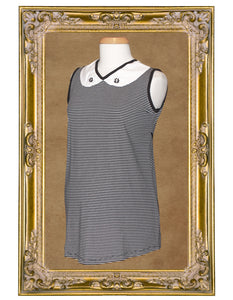 New at MamaSan! The Go-Go-Mod Sleeveless Maternity Top