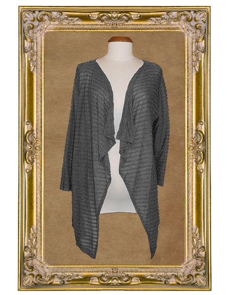 Chrysalis Gray Cardigan