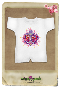 Anchor's Rose Romper
