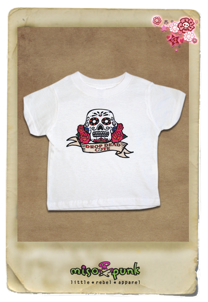 Drop Dead Cute Sugar Skull Tee