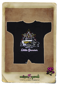 Little Greaser Boys Romper